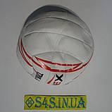М'яч волейбольний Ronex Orignal Grippy Red/Black, фото 3