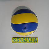 Мяч волейбольный сувенирный Mikasa MVA 1,5, фото 2