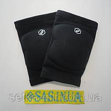 Волейбольные наколенники с НДС Asics Gel Kneepad, сертификат, официал размер M, чёрные