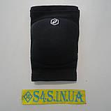 Волейбольные наколенники с НДС Asics Gel Kneepad, сертификат, официал размер M, чёрные, фото 2