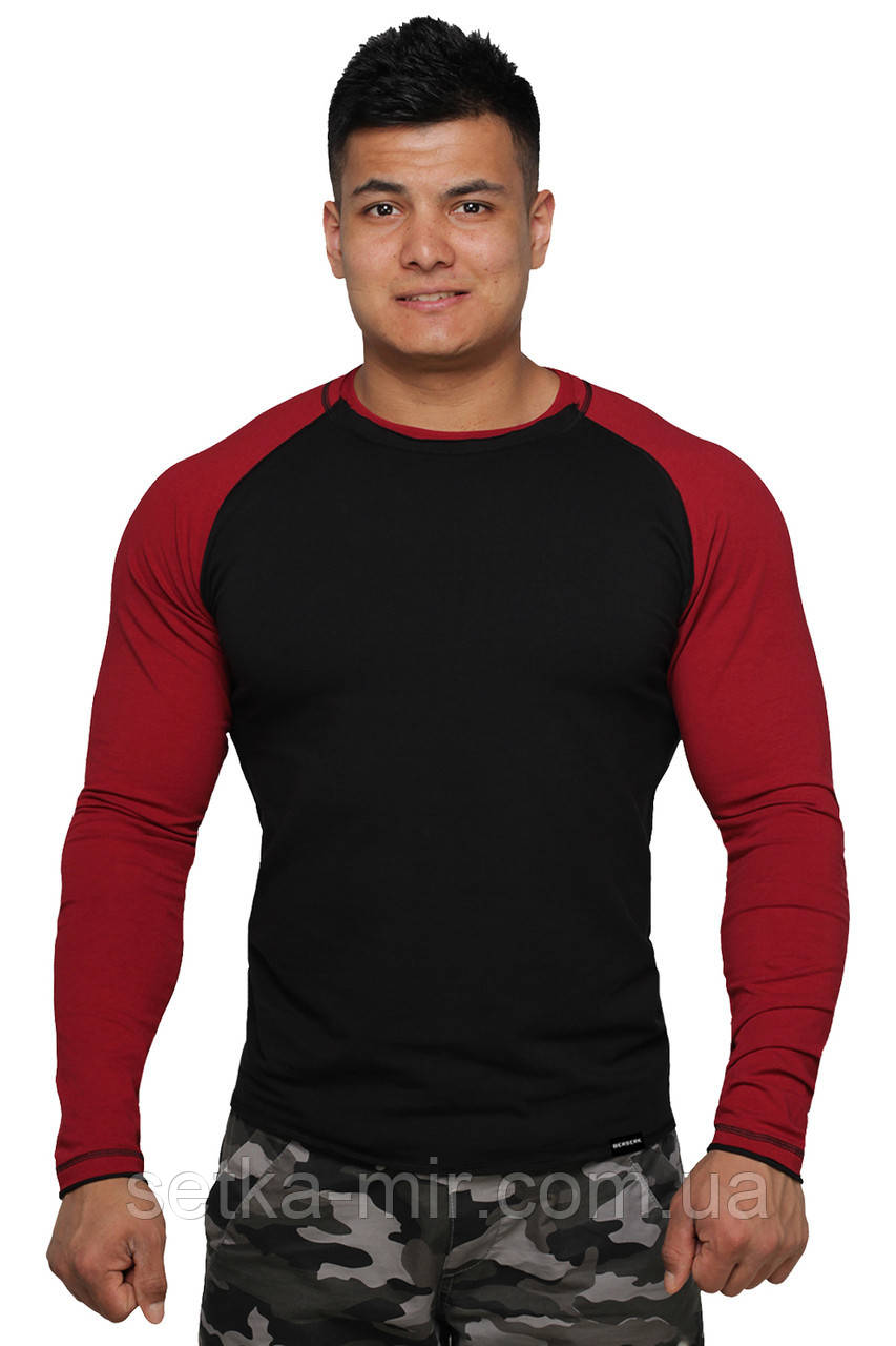 Реглан Long Sleeve BERSERK black/bord