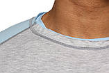 Реглан Long Sleeve BERSERK grey/light blue (размеры в ассортименте), фото 4