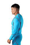 Компрессионная футболка BERSERK DYNAMIC light blue (размеры в ассортименте), фото 3