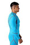 Компрессионная футболка BERSERK DYNAMIC light blue (размеры в ассортименте), фото 4