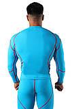 Компрессионная футболка BERSERK DYNAMIC light blue (размеры в ассортименте), фото 6