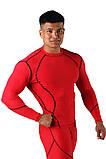 Компрессионная футболка BERSERK DYNAMIC red (размеры в ассортименте), фото 2