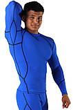 Компрессионная футболка BERSERK DYNAMIC blue (размеры в ассортименте), фото 3
