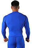 Компрессионная футболка BERSERK DYNAMIC blue (размеры в ассортименте), фото 5