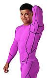 Компрессионная футболка BERSERK DYNAMIC violet (размеры в ассортименте), фото 3