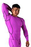 Компрессионная футболка BERSERK DYNAMIC violet (размеры в ассортименте), фото 4