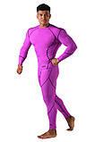Компрессионная футболка BERSERK DYNAMIC violet (размеры в ассортименте), фото 9