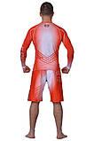 Рашгард MMA BERSERK Pro Fight red (размеры в ассортименте), фото 6