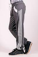 Детские спортивные штаны Лампас (темно-серые)
