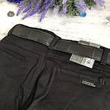 Штаны на мальчика 1/13 черные. Размеры 7 лет, 8 лет, 10 лет, фото 3