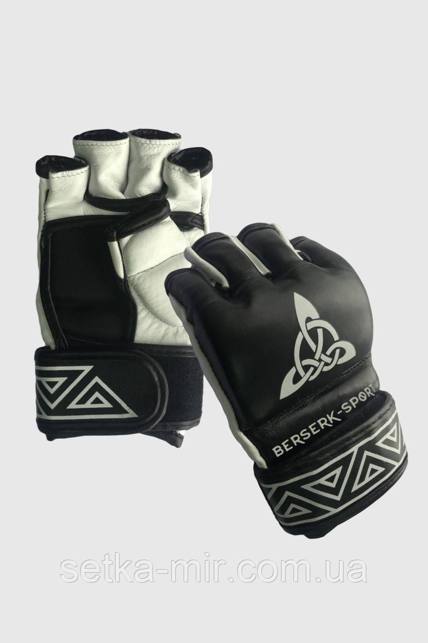 Рукавички BERSERK SCANDI-FIGHT 4 oz black/white (розміри в асортименті)