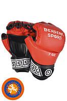 Перчатки BERSERK FULL for Pankration approved UWW 7 oz red (винил)