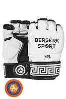 Перчатки BERSERK TRADITIONAL for Pankration approved UWW 4 oz white (винил)
