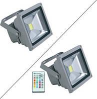 Прожектор светодиодный RGB Lemanso LMP10