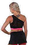 Топ BERSERK AMAZON black/pink (розміри в асортименті), фото 3