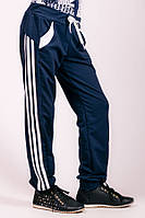 Детские спортивные штаны Лампас(темно-синие)