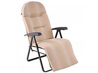 Крісло-шезлонг GALAXY PLUS з підножкою 59 x 68-149 x 62-107 cm