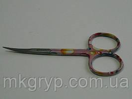 Ножницы маникюрные для кутикулы (узкие) NAIT STS 0178-6. Термичеки обработанные!