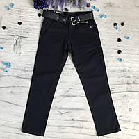 Штаны на мальчика 1/17 синие. Размеры 12 лет, 13 лет, 14 лет, фото 1