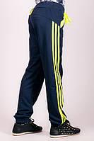 Детские спортивные штаны Лампас темно-синие