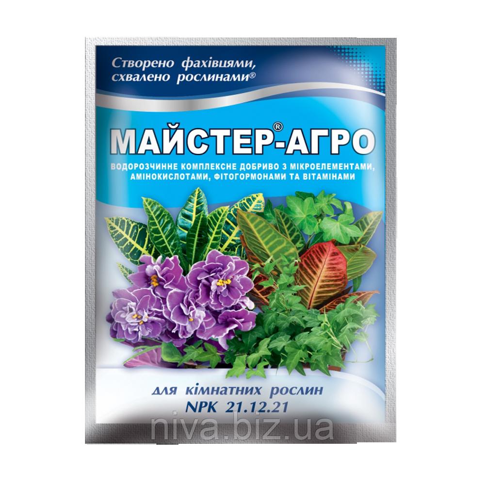 Майстер Агро для кімнатних рослин Україна 25 г