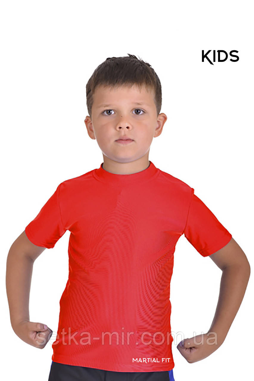Футболка компрессионная BERSERK MARTIAL FIT red (размеры в ассортименте)
