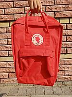 Городской Рюкзак Travelleopard Lexeb в стиле Fjallraven Kanken 16л Classic Красный