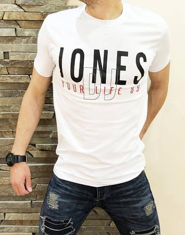Мужская Футболка JONES white, фото 2