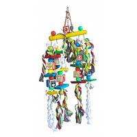 Игрушка для птиц Birdie Rope Carousel