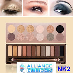 Косметика макияж NK2 палитра тени для век палитра 12 цветов