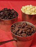 Шоколад справжній без домішок молочний 30% Schokinag (Німеччина) 100 г в каллетах, фото 2