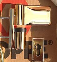 Дверная петля Dr. Hahn KTV 6R зол.глянцевое (наплав 15-20 мм)