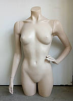Манекен женский торс с руками 90см