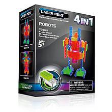 Робот 4 в 1 конструктор Laser Pegs