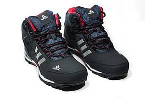 Зимние ботинки (на меху) мужские Adidas Climaproof (реплика)  3-072