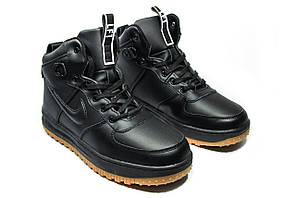 Зимние ботинки (на меху)  мужские Nike AF1 1-031 (реплика)