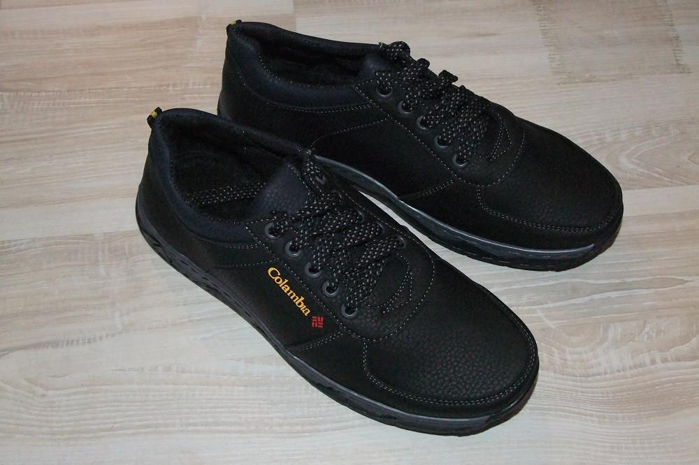 Туфли мужские черные 40-45 р черные (Львов) арт 12К