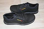 Туфли мужские черные 40-45 р черные (Львов) арт 12К, фото 5