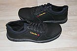 Туфли мужские черные 40-45 р черные (Львов) арт 12К, фото 6