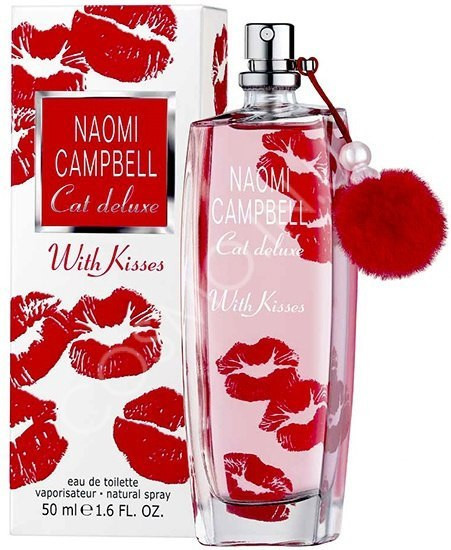 Женская туалетная вода Naomi Campbell Cat Deluxe with Kisses (75 мл ) ГУБЫ
