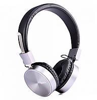 Наушники с микрофоном Hoco W2 Black / Silver