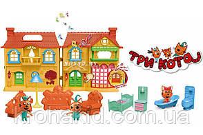 """Игровой набор """"Три кота"""" Домик с фигурками и мебелью / Три кота Дом, фото 2"""