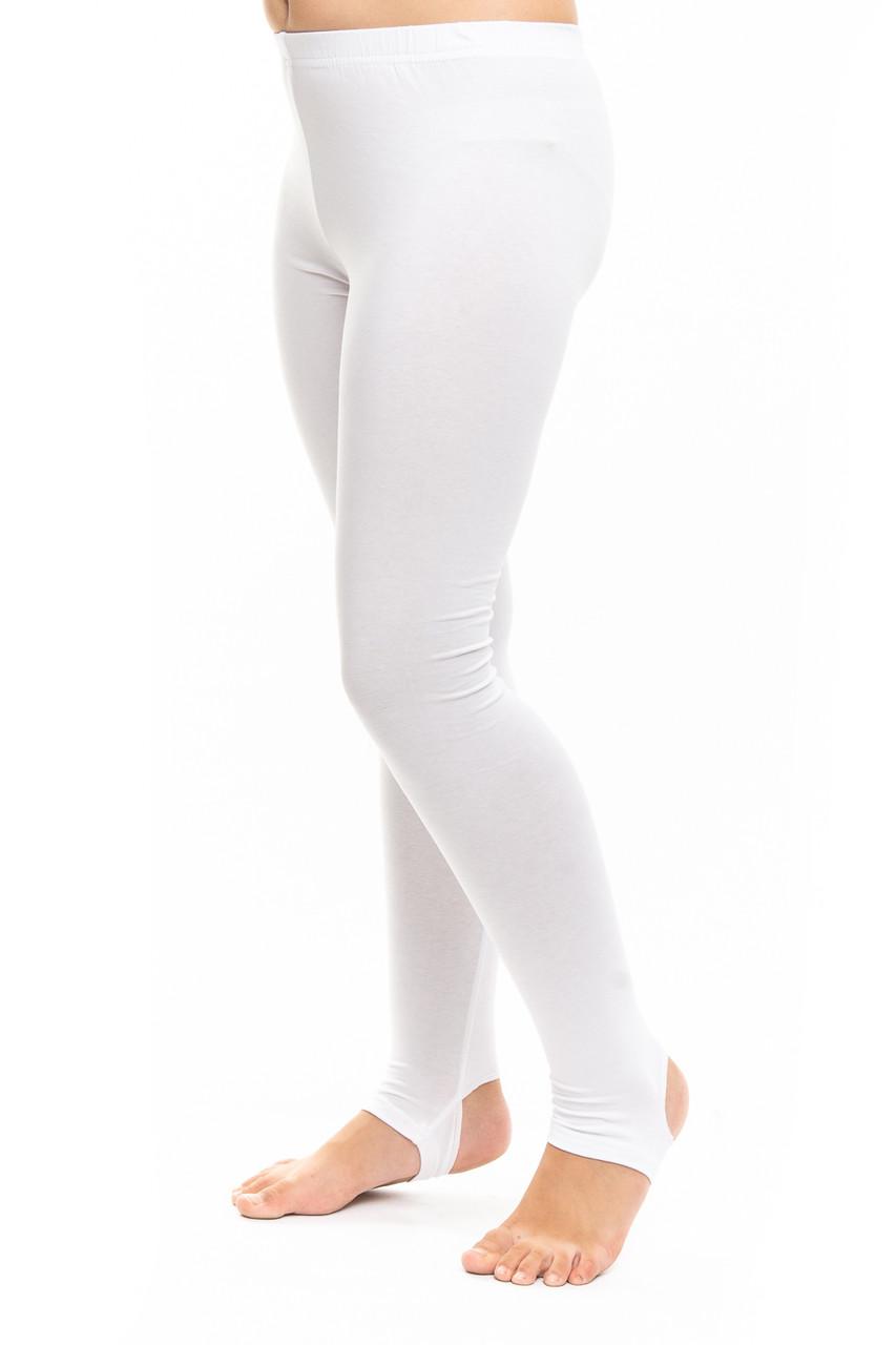Белые лосины для художественной гимнастики