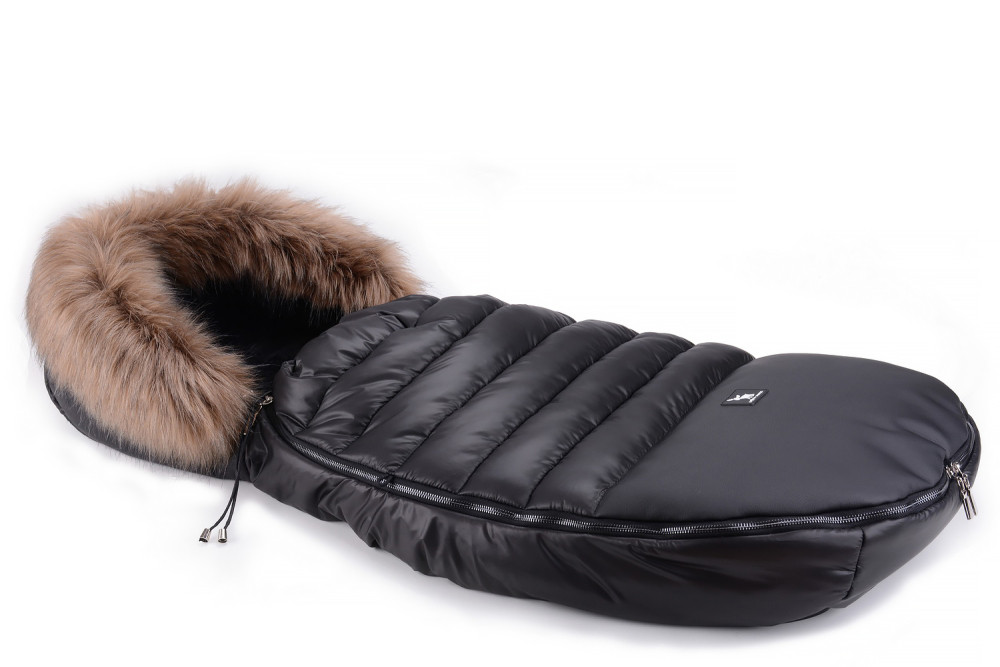 Зимний конверт Cottonmoose Alaska Premium  black (черный-черный) от 5мес до 4лет