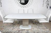 Стол обеденный Nicolas HOUSTON 130/190х105х76 см белый