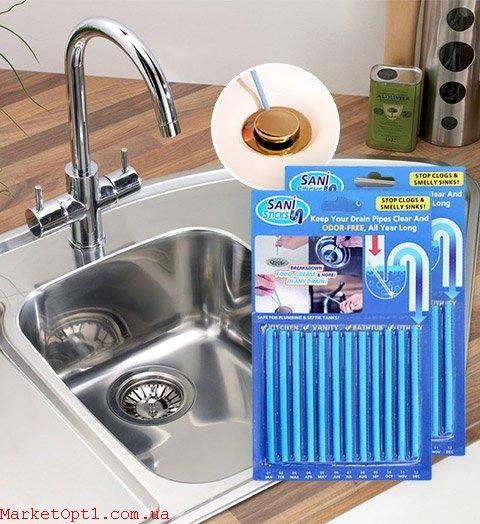 [ОПТ] Палички для очищення водостічних труб Sani Sticks